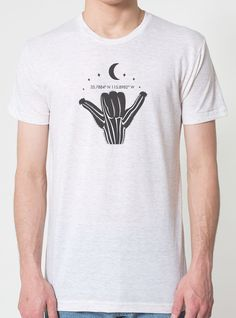 The Soul Project-Shaka Cactus Mens T-Part of our Joshua Tree Soul series
