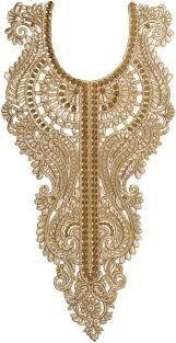 Resultado de imagen de embroidery golden