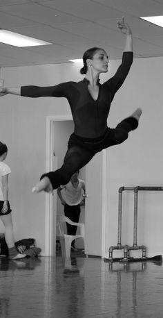 Adeline Pastor, Principal Dancer Aalto Ballett Theater Essen, Germany - Rehearsal
