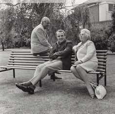 With his parents, Richard and Muriel, in the 1960's.