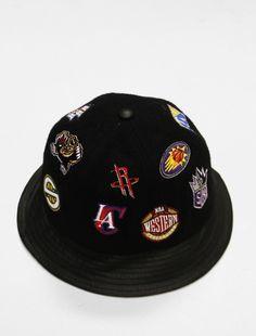 Image of NBA Leather Bucket Hat Bucket Hat e21203ad07b2