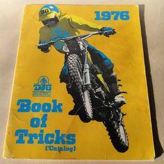 Vintage DG Performance Specialties Book of Tricks 1976 Catalog Motorcycle Parts Accessories Motocross Racing Dirt Bike by vintagebaron on Etsy Dirt Bike Parts, Motocross Racing, Motorcycle Types, Motorcycle Parts And Accessories, Catalog, Books, Addiction, Motorcycles, Vintage