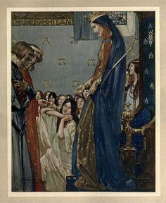 William Russell Flint , Le morte Darthur, 1921