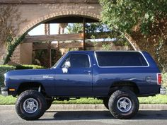 1991 DODGE RAMCHARGER 4X4 SUV - Side Profile - 133209