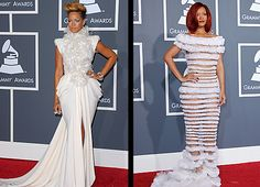 rihanna from grammys of the past disasters!