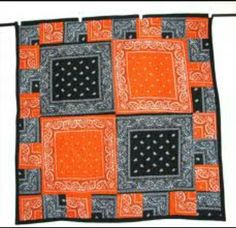 Bandana Quilt - link does not provide instructions. For picture purposes only.