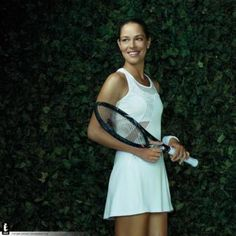 Ana Ivanovic's Adidas dress for Wimbledon 2013