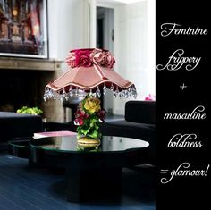 Glamorous Interior :: What is it? :: Can we define it? » glamour drops