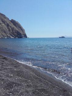 Perissa-Beach - Santorini - Greece