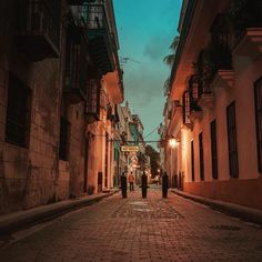 Cuba - Havana at dawn... Looking towards Bodeguita del Medio - the alleged birthplace of the Mojito and a favorite place of Gabriel Garcia Marquez and Pablo Neruda (one of my favorite poets). It's supposedly also one of the places Hemingway frequented in Havana but that's a fact that is highly debatable. by travelinglens