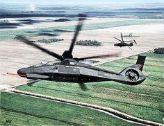 O Boeing/Sikorsky RAH-66 Comanche foi um avançado helicóptero projetado para o US Army, com o objetivo de realizar missões de reconhecimento armado