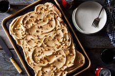 """Coke & Peanuts"" Sheet Cake recipe on Food52"