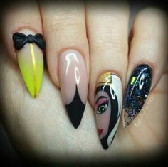 Disney Evil Queen nails