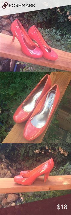 Coral Madden Girl pumps. 3 inches in height. About a half inch platform. Comply. No trades. Posh only. Make reasonable offers. These must go. Madden Girl Shoes Heels