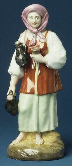 Okhta Milkmaid, Russia, ca 1780- 1800