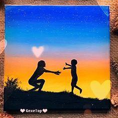 Beautiful Acrylic Painting Video Tutorial Part 28 Canvas Painting Tutorials, Acrylic Painting Techniques, Painting Videos, Simple Canvas Paintings, Easy Canvas Painting, Painting Art, Easy Acrylic Paintings, Acrylic Canvas, Painting Tips