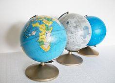 Midcentury Globes