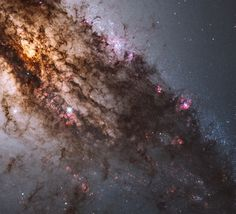 Mind-Blowing Photos Of Space From The Hubble Telescope -- Young, blue star clusters.  (Reuters / NASA)