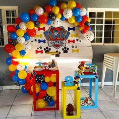 99478338 Pin by Erin on Hudson's Birthday in 2020 Paw Patrol Birthday Decorations, Paw Patrol Birthday Theme, Paw Patrol Birthday Invitations, Party Invitations Kids, 2nd Birthday Parties, 4th Birthday, Balloon Decorations, Paw Patrol Pinata, Paw Patrol Balloons