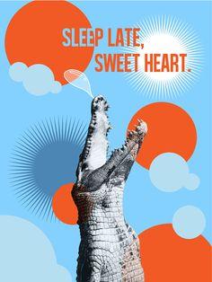 Sleep Late, Sweet Heart. on Behance