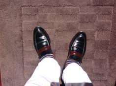 MyShoes KOKON FactoryMade「418」ダークグリーンコードバン✖️ショルダーチョコ#gloucesterroad #KOKON #shoes #yokohama #靴