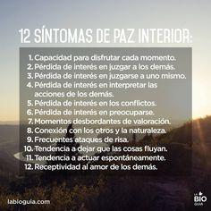 Señales de Tráfico para el Alma: 12 Síntomas de Paz Interior...