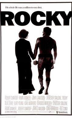 Directed by John G. Avildsen.  With Sylvester Stallone, Talia Shire, Burt Young, Carl Weathers. Rocky Balboa, a small-time boxer gets a supremely rare chance to fight the heavy-weight champion, Apollo Creed, in a bout in which he strives to go the distance for his self-respect.