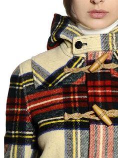 Read More About Ralph Lauren plaid toggle coat...