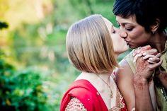 Lesbian Indian Wedding | JAGstudios width=