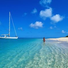 Blue waters...gorgeous.  I see myself there