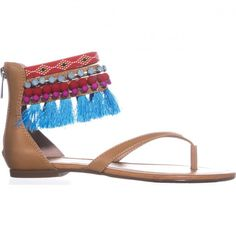 Jessica Simpson Raquelle Ankle Strap Flats Sandals, Buff    #sandals #flats #tassel #spring #springoutfits #causalsummeroutfits #springtrend #springstyle #springfashion #shoes #shopping #style #trending #fashion #womensfashion Ankle Strap Flats, Spring Step, Trending Fashion, Spring Trends, Spring Outfits, Spring Fashion, Tassel, Sandals, Womens Fashion