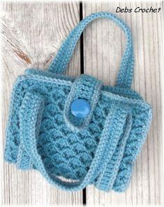 crochet school book cover pattern | Debs Crochet: My Crochet Today- Book / Bible Tote