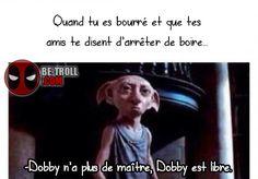 Dobby fait ce qu'il veut ! - Be-troll - vidéos humour, actualité insolite
