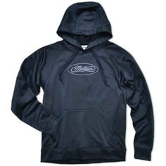 Mathews Black Unisex Hooded Pullover
