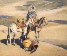 Cavalier von Edouard Edmond Doigneau