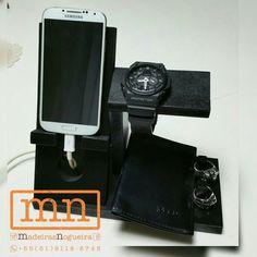 Suporte para celular, carteira, relógio, anéis etc