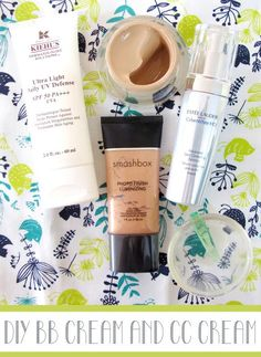 DIY: How to make your own BB Cream and CC Cream