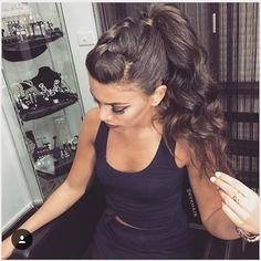 How Gorgeous Tail➕braid @kykhair  #hairinspo #hairinspiration #braids #braid…
