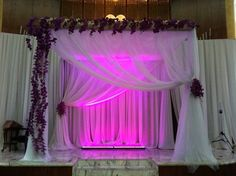 Wow! Fab #canopy setup with stunning details  #uplighting! Great photo via #mazelmoments
