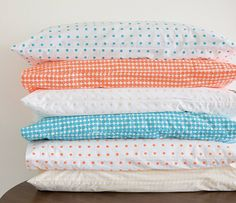 colour me happy / castle & things polkadot bed linens