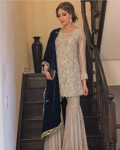 Do you require the best Classic Punjabi Suit also Elegant Designer ladies Punjabi Suit if so then CLICK VISIT link for more info Shadi Dresses, Pakistani Formal Dresses, Pakistani Party Wear, Pakistani Wedding Outfits, Pakistani Dress Design, Pakistani Clothing, Nikkah Dress, Indian Party Wear, Wedding Hijab