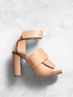 Nude wrap heel, ACNE studios.  NEED