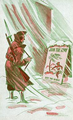 American Military Propaganda Postcard - WW2 era - pin by Paolo Marzioli