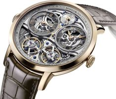 TimeZone : Industry News » Basel 2017 - Arnold & Son DBG Skeleton