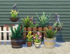 Mod The Sims: Modular Plants VI by plasticbox • Sims 4 Downloads