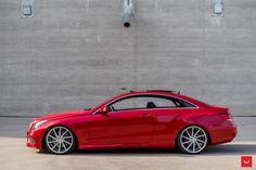 Vossen CVT wheels look great on C207 Mercedes-Benz E-Class Coupe