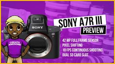 Sony A7R III Preview: We finally have a Sony A7R III Announcement and know the actual Sony A7R III Specs Pricing and Release Date. I'm actually looking forward to buying the A7R III as my next Full Frame Camera since I already have the SONY a6500 and would love to compare them. We still don't get a fully articulating flip out screen just the tilt screen...  One of my problems however with the Sony A7R III is the fact that it still lacks a flip out screen. I need this as a YouTube Creator…