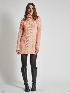 Vegan Sweater Dress - Multiple Colors