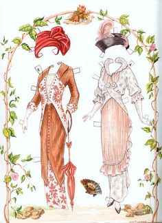 Sisters - Fashions of the Early 1900s