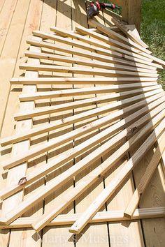 Make Your Deck Unique With a Sunburst Deck Railing